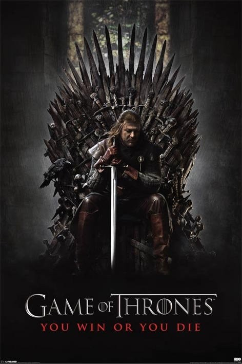 Game of Thrones plagát 61x91 cm - You win or die