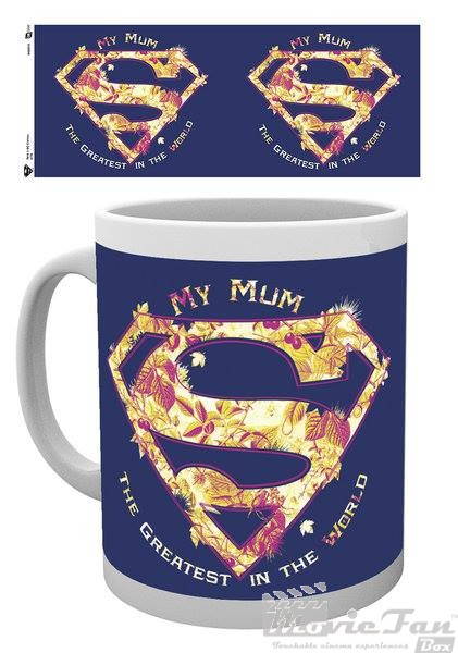 Superman - Mum the greatest hrnček (330 ml)
