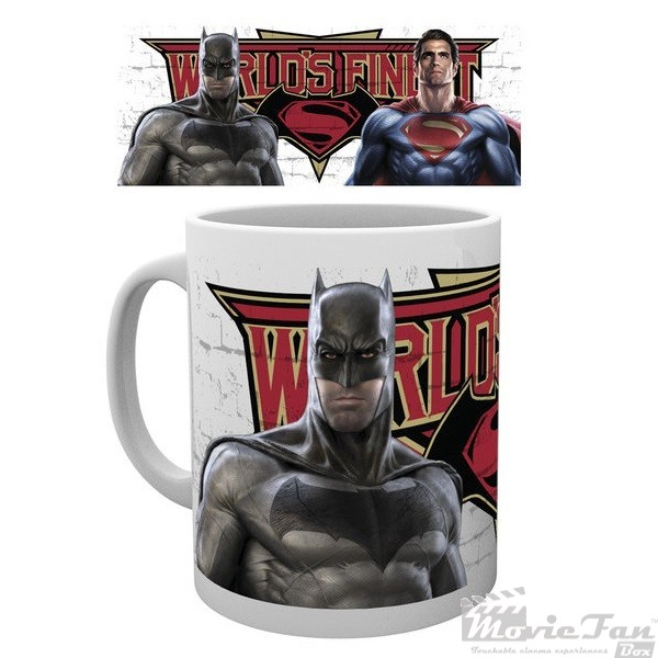 Batman vs. Superman - World finest hrnček (330 ml)
