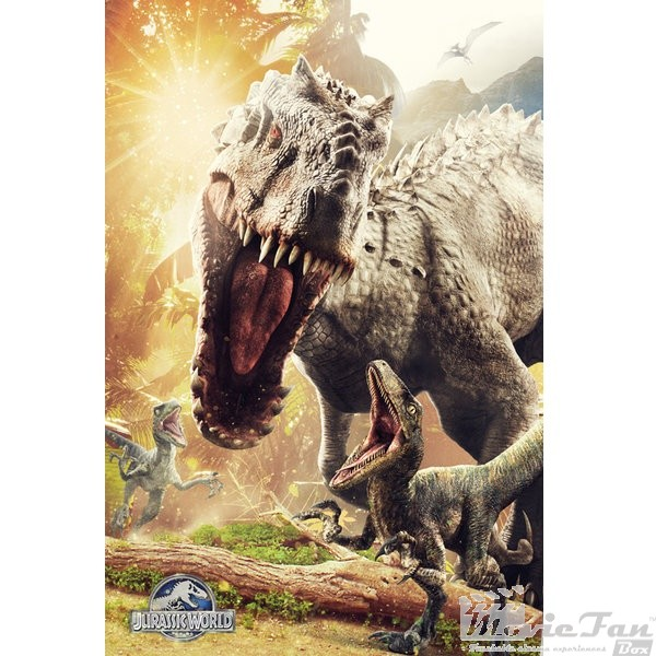 Jurassic World plagát 61x91 cm - Attack