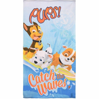 Paw Patrol - Osuška Catch the Waves 70x140 cm