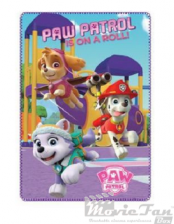 Paw Patrol deka 100x150 cm - Is on a roll