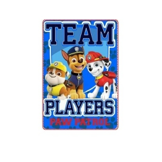 Paw Patrol deka 100x150 cm - Team Players