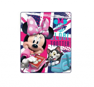 Disney Minnie deka 120x140 cm - Globetrotter