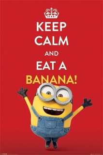 Minions plagát 61x91 cm - Keep Calm