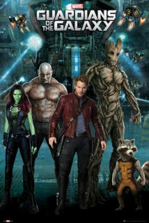 Guardians of the Galaxy plagát 61x91 cm