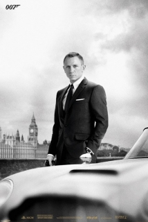 James Bond plagát 61x91 cm - Skyfall/Bond & DB5