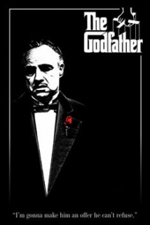 The Godfather plagát 61x91 cm - Roses