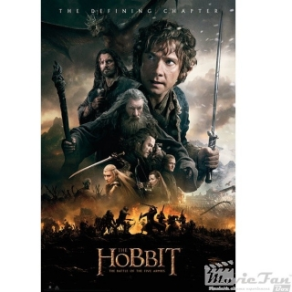 The Hobbit 3 plagát 61x91 cm - Fire