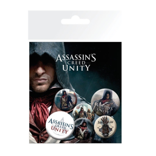Assassin's Creed odznaky (6 ks)