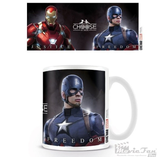 Captain America: Civil War- Na koho strane si? hrnček (330 ml)