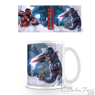 Captain America: Civil War - Vojna hrnček (330 ml)