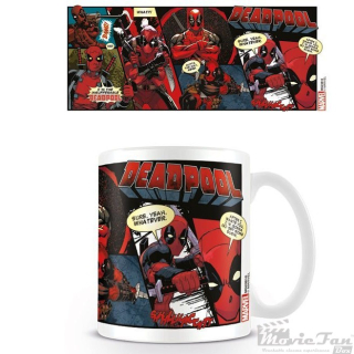 Deadpool - Comic hrnček (330 ml)