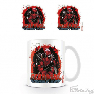 Deadpool - Smoking Gun hrnček (330 ml)