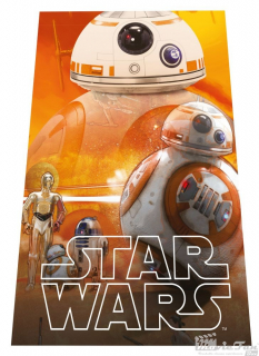 Star Wars deka 100x150 cm - BB8