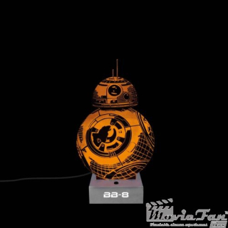 Star Wars Led lampa - BB-8