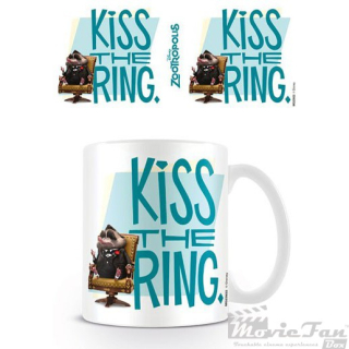 Zootropolis - Kiss the ring hrnček (330ml)