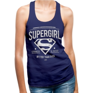 Superman - Supergirl Logo dámsky top