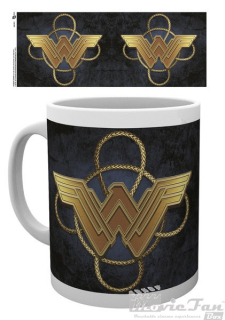 Wonder Woman hrnček (330 ml) - Gold Logo