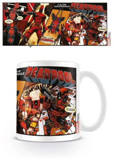 Deadpool - Comic Insufferable hrnček (330 ml)