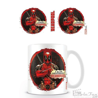 Deadpool - Insufferable hrnček (330 ml)