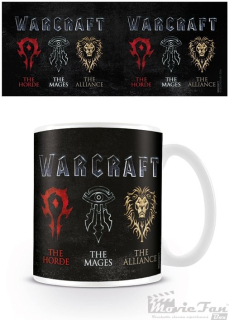 Warcraft - Logo hrnček (330ml)