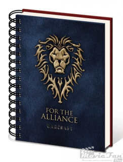 Warcraft - A5 zápisník - Alliance
