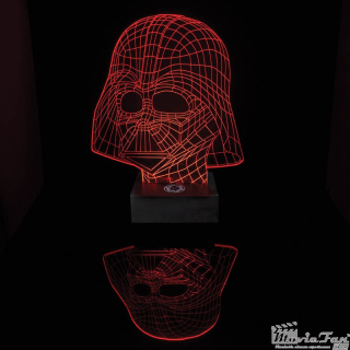 Star Wars Led lampa - Darth Vader